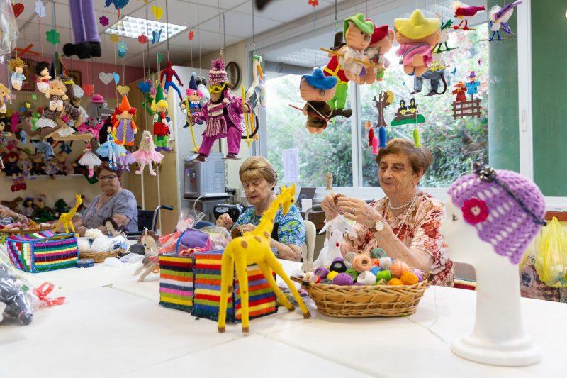 פעילויות תרבות במעון הרופא. צילום: רז רוגובסקי