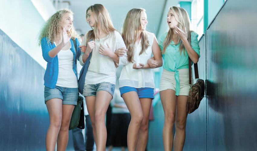 נערות במכנסיים קצרים (צילום: Getty Images, Image Source)