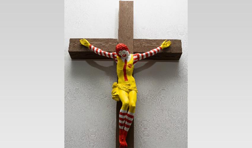 """היצירה """"מק ישו"""" (צילום מתוך אתר מוזיאון חיפה)"""