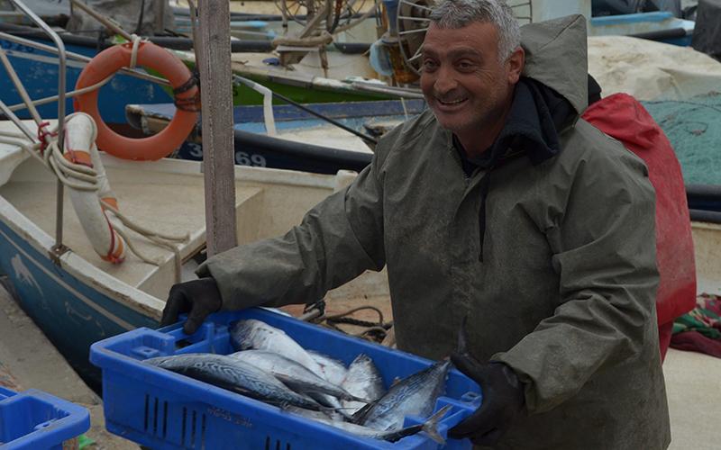 דייג ושללו (צילום: רותם מימון; למצולם אין קשר לכתבה)