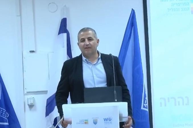 ראש העיר נהריה רונן מרלי (צילום: דוברות עיריית נהריה)