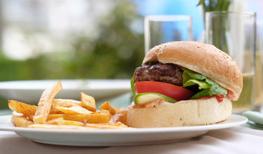המבורגר בחיפה. צילום: א.ס.א.פ קריאייטיב NGIMAGE