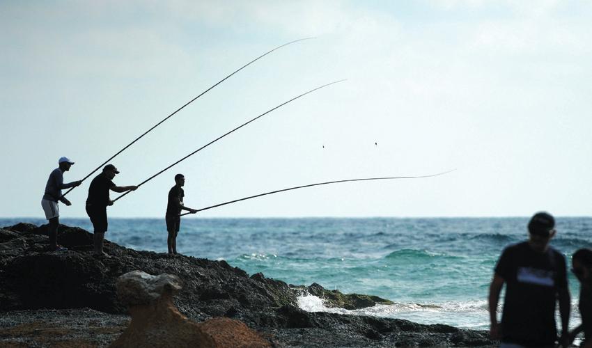 דייגים (צילום: רמי שלוש)