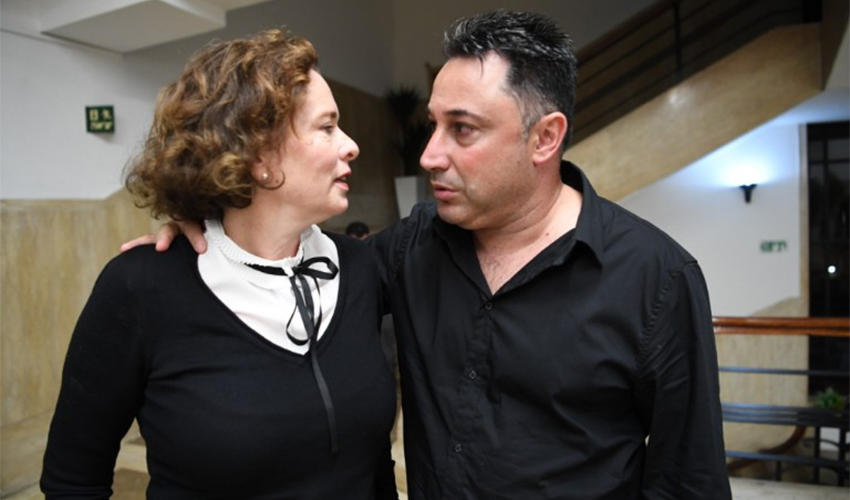 """איל דרעי ועינת קליש רותם. """"זו גאווה לייצג את ארגוני העובדים מול עיריית חיפה"""""""