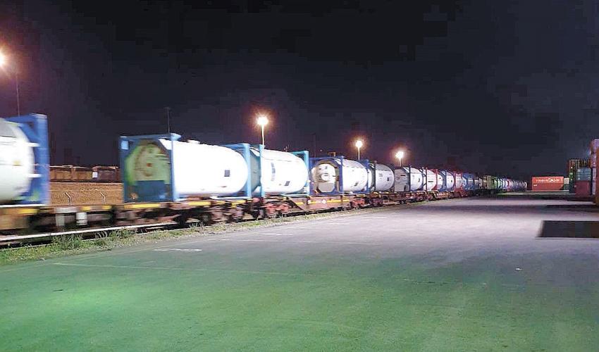 רכבת האמוניה (צילום: רכבת ישראל)