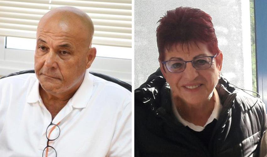 חנה הרשקוביץ ומשה מזרחי. הדרה?