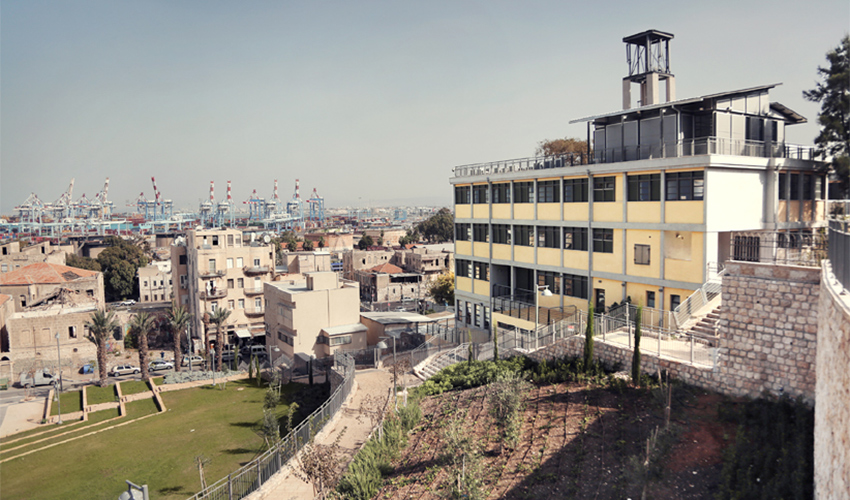המרכז לאמנות עכשווית פירמידה (צילום: יעלי גבריאלי)