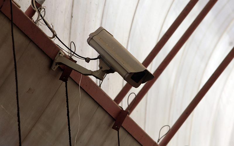 מצלמת אבטחה (צילום: טס שפלן, ג'יני)