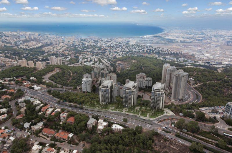 פרויקט TRIO בחיפה של חברת אשדר