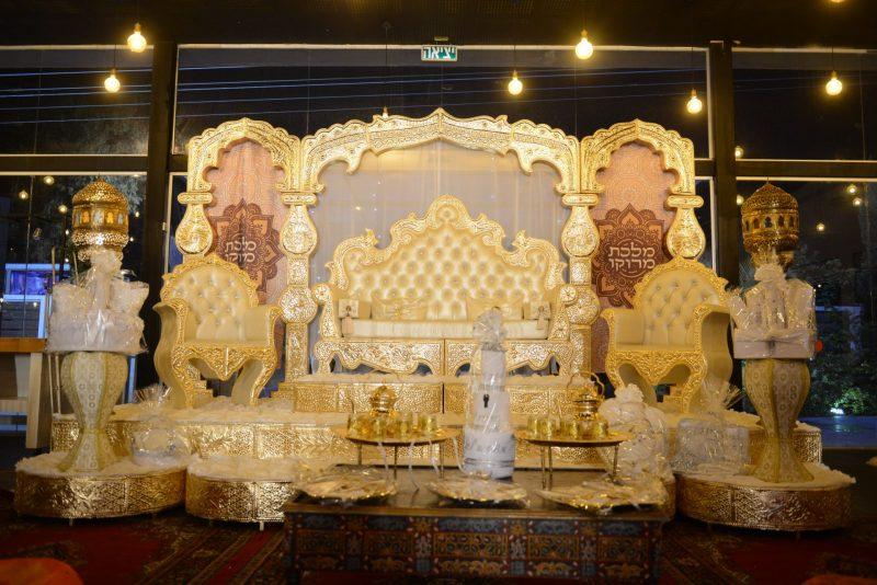 מלכת מרוקו: הפקות חינה בחיפה והצפון. צילום: מורן קדוש