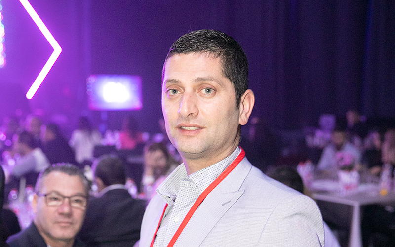 ראש עיריית נשר רועי לוי (צילום: תומר אפלבאום)