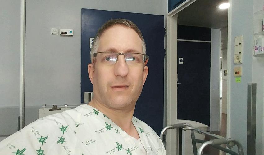 """עו""""ד איתמר לנדאו בבית החולים"""