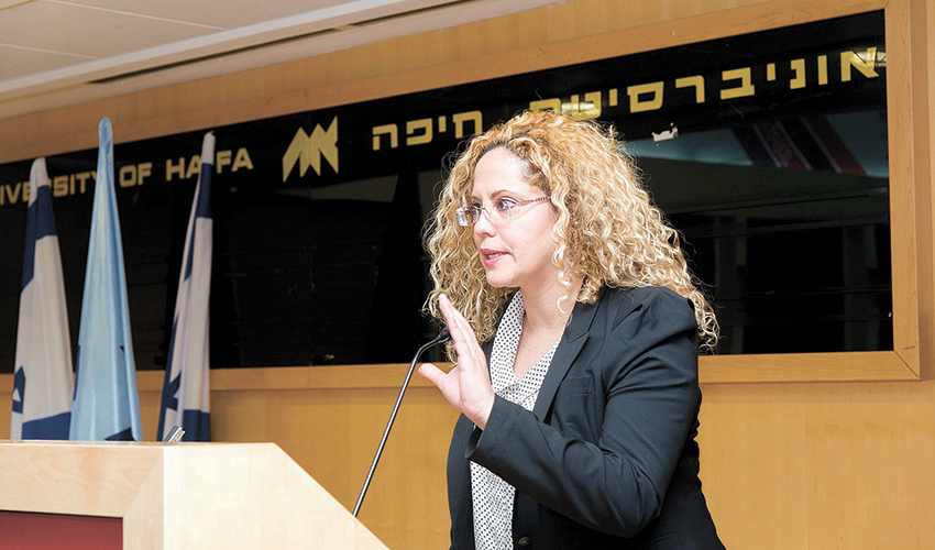 שרון נסים (צילום: דוברות אוניברסיטת חיפה)