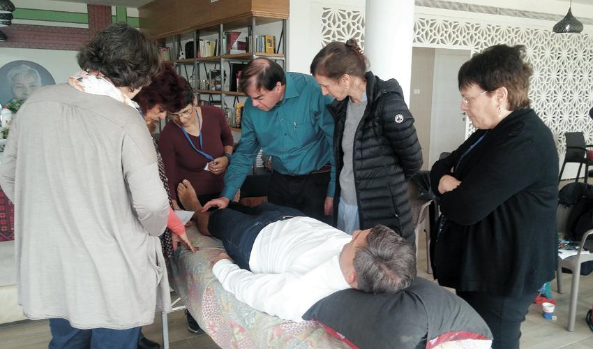 סדנת ההכשרה ברפואה אינטגרטיבית במרכז הרפואי לין (צילום: דוברות שירותי בריאות כללית)
