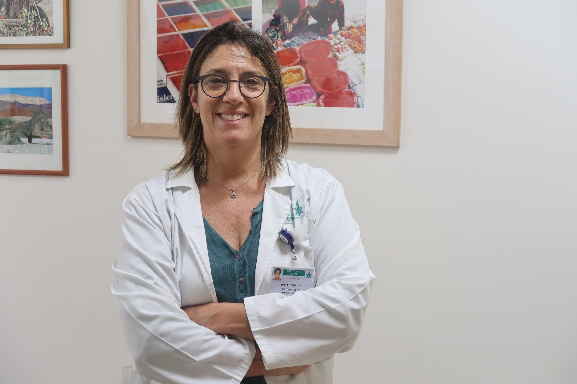 """ד""""ר טובה ריניס. צילום: מורן עתיר"""