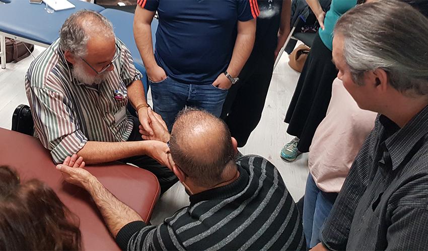הקורס לטיפול בכאב (צילום: דוברות מכבי שירותי בריאות)