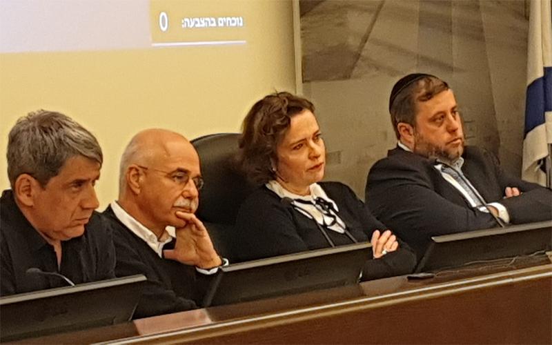 ישיבת מועצת העיר (צילום: בועז כהן)