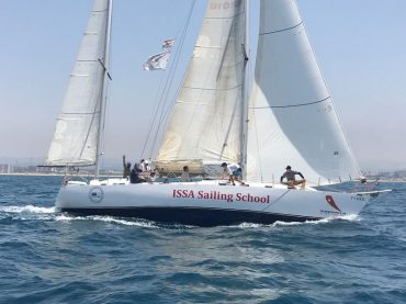 """סירת הדגל של """"ורדי לה"""". צילום: קהילת שייטי כרמל"""