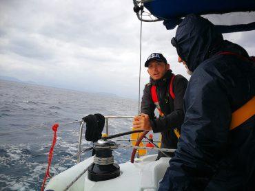 עוד יום של כיף על הסירה. צילום: איריס אשוח