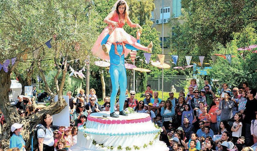 פסטיבל הצגות הילדים בחיפה (צילום: דוברות עיריית חיפה)