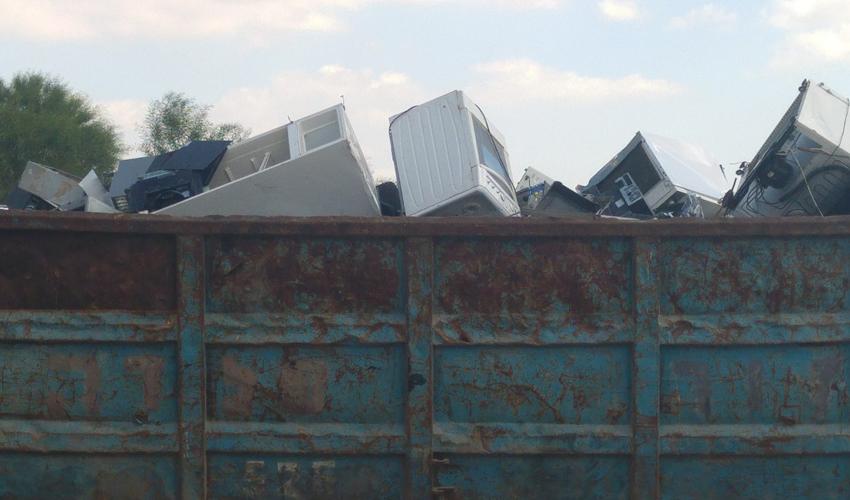 פסולת אלקטרונית (צילום: המשרד להגנת הסביבה)