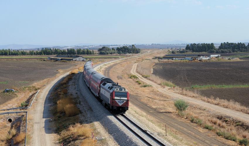 רכבת העמק (צילום: גיל אליהו)