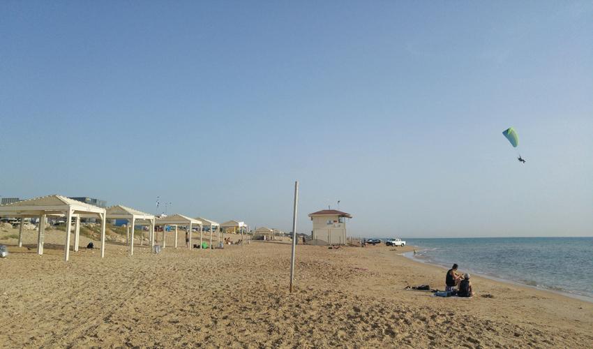 חוף הסטודנטים (צילום: אלה אהרונוב)