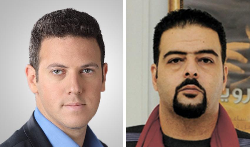 רג׳א זעאתרה ודוד עציוני (צילומים: רמי שלוש, מיכה בריקמן)