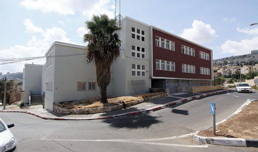 בניין אגף החינוך של עיריית חיפה (צילום: קובי פאר)