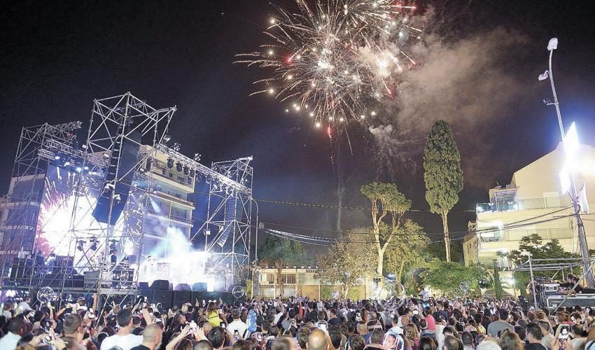 חגיגות יום העצמאות בשנה שעברה (צילום: דוברות עיריית חיפה)