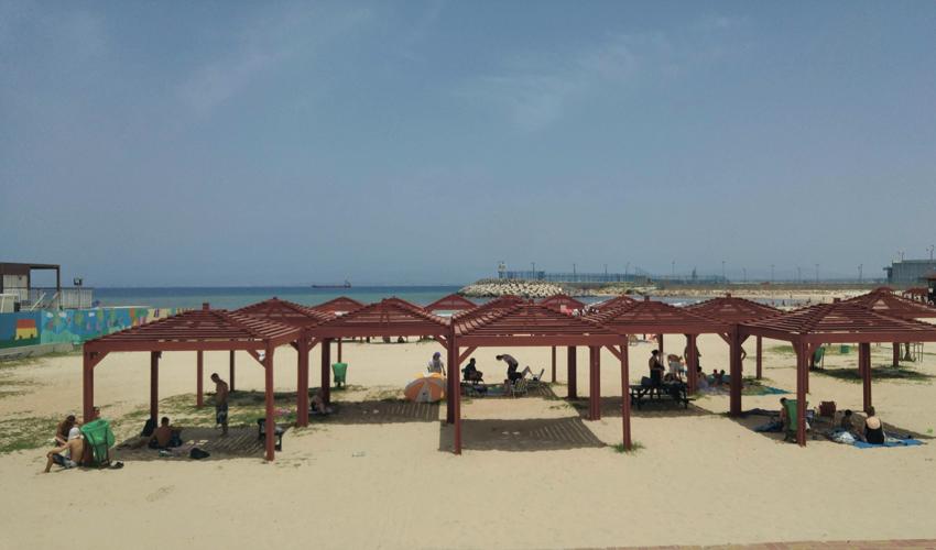 החוף השקט (צילום: אלה אהרונוב)