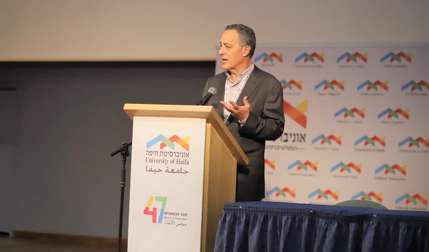 בראד בלום (צילום: דוברות אוניברסיטת חיפה)