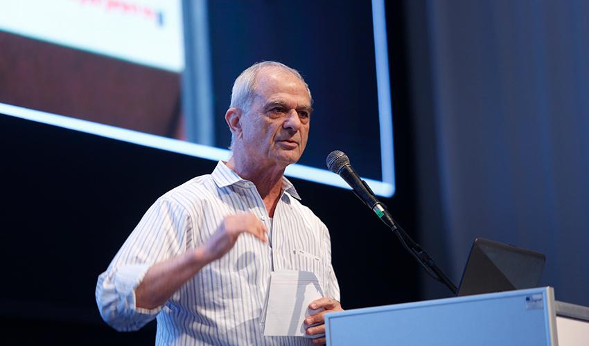 נשיא איגוד לשכות המסחר אוריאל לין (צילום: מוטי מילרוד)