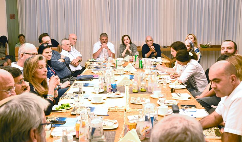 מפגש ההתנעה של פרויקט רובע החדשנות (צילום: דוברות עיריית חיפה)
