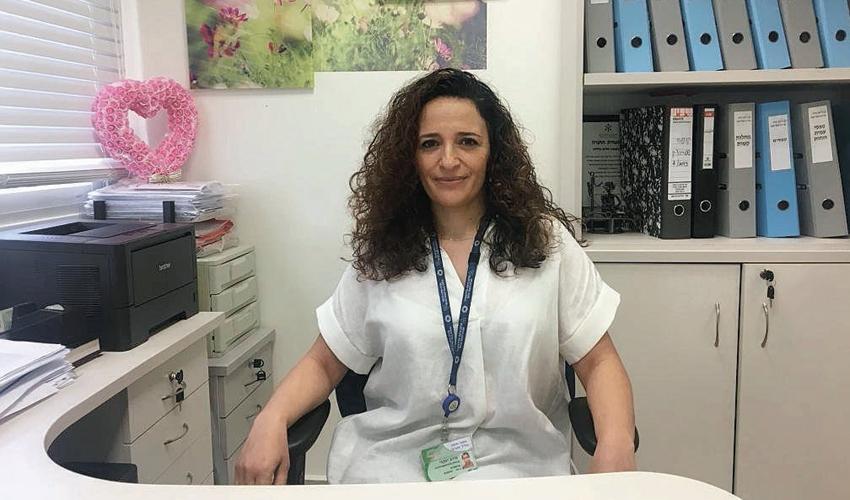 מירב זראד-יעקבי (צילום: דוברות שירותי בריאות כללית)