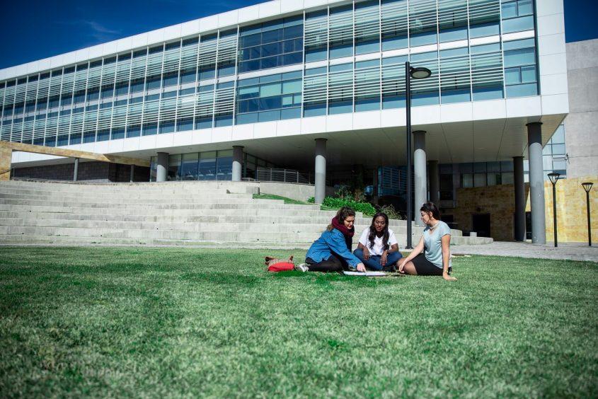 סטודנטיות במכללת גליל מערבי. צילום: שמעון איפרגן