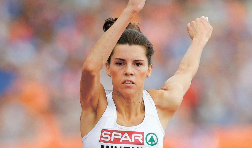 חנה קנייזבה מיננקו. המטרה הבאה: לקבוע את הקריטריון לאולימפיאדת טוקיו (צילום: Matthias Schrader, AP)
