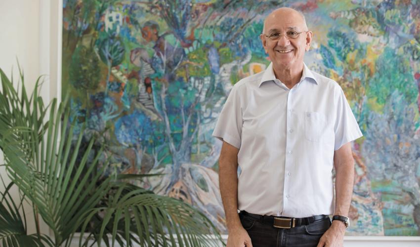 """ד""""ר אמנון רופא. """"תפקידו העיקרי של מנהל בית חולים בישראל - לא רק של בני ציון אלא של כל בתי החולים - זה לגייס כספים"""" (צילום: רמי זרנגר)"""