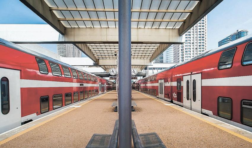 תחנת רכבת (צילום: דוברות רכבת ישראל)