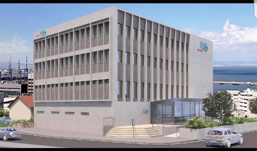 בניין ההסתדרות המחודש (הדמיה מתוך דף הפייסבוק של ההסדרות במרחב חיפה)