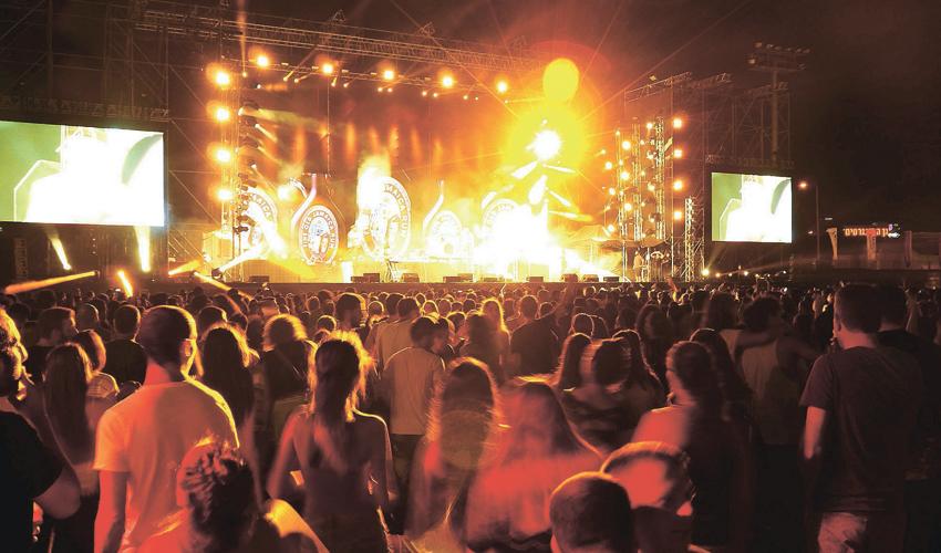 פסטיבל עיר הבירה בחיפה (צילום: דוברות עיריית חיפה)