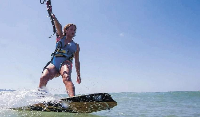 """הילה לאופר. """"אני דואגת לשמור על הטבע הימי"""" (צילום: שחף ברומר)"""