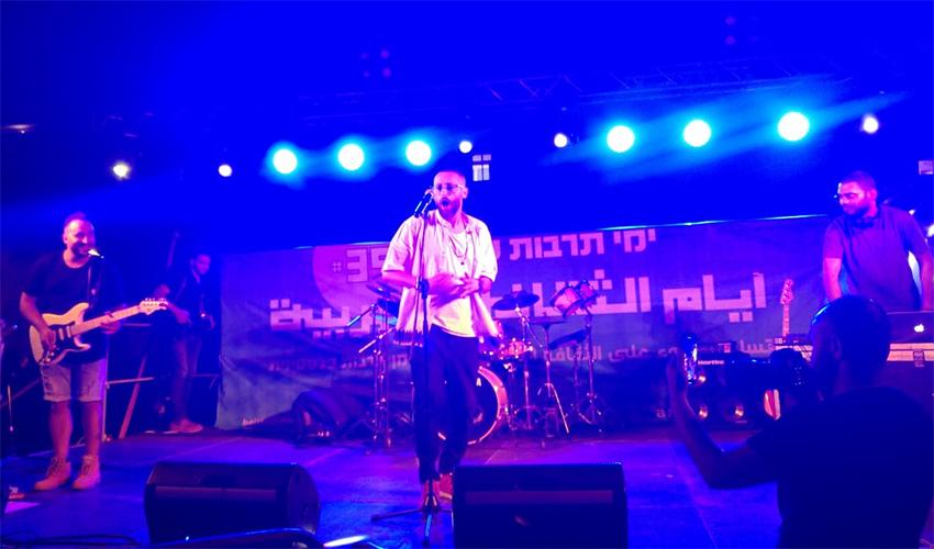 הופעה בפסטיבל ימי תרבות ערבית (צילום: אלה אהרונוב)