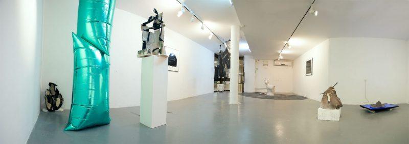 שחר יהלום, מראה הצבה בתערוכה 'דיסקו'. צילום פנורמה: שירה טבצ'ניק