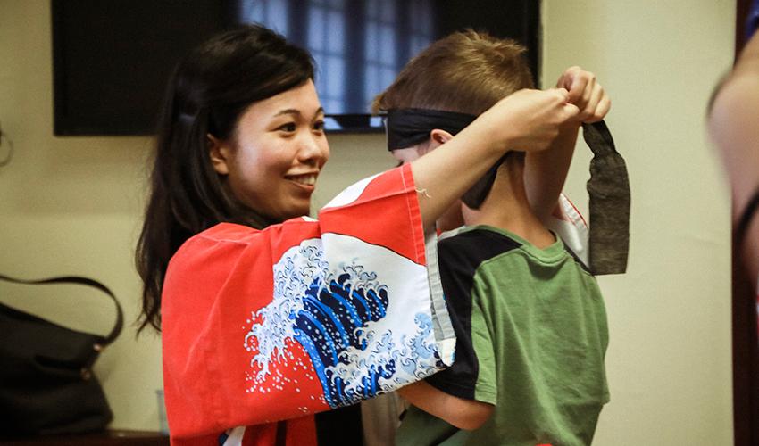 יום יפן במוזיאון טיקוטין (צילום: קסני קולסניק)