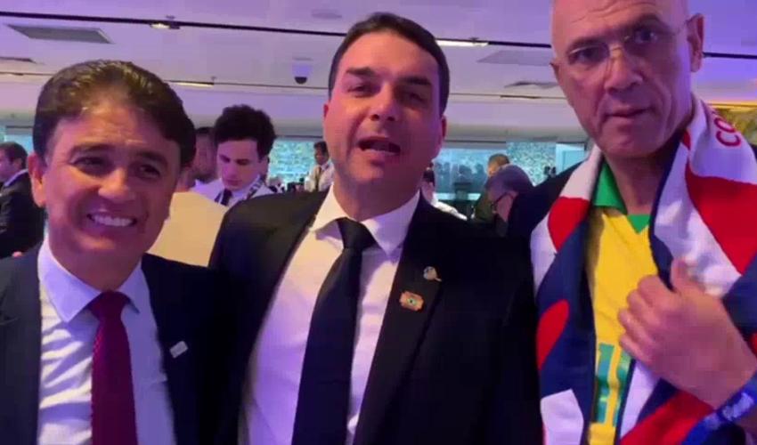 כוכב העבר הברזילאי בבטו (משמאל) מבטיח להגיע למשחק השלום בחיפה (צילום: חברת MTR7)