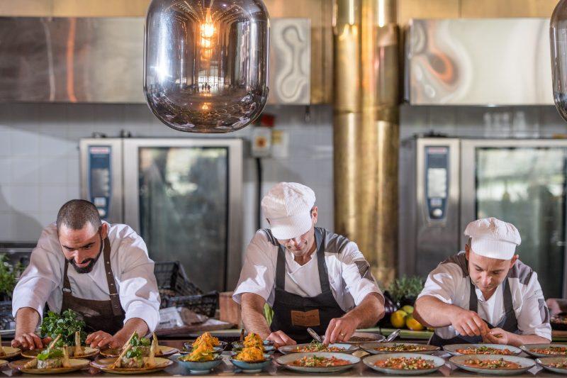 מטבח פתוח ואיכותי. צילום: חיים אפריאט