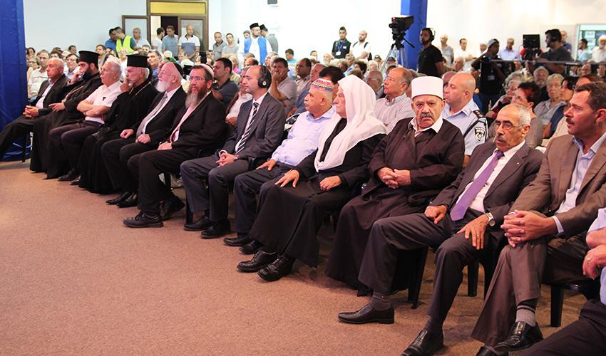 כנס העדה האחמדית (צילום: דוברות עיריית חיפה)