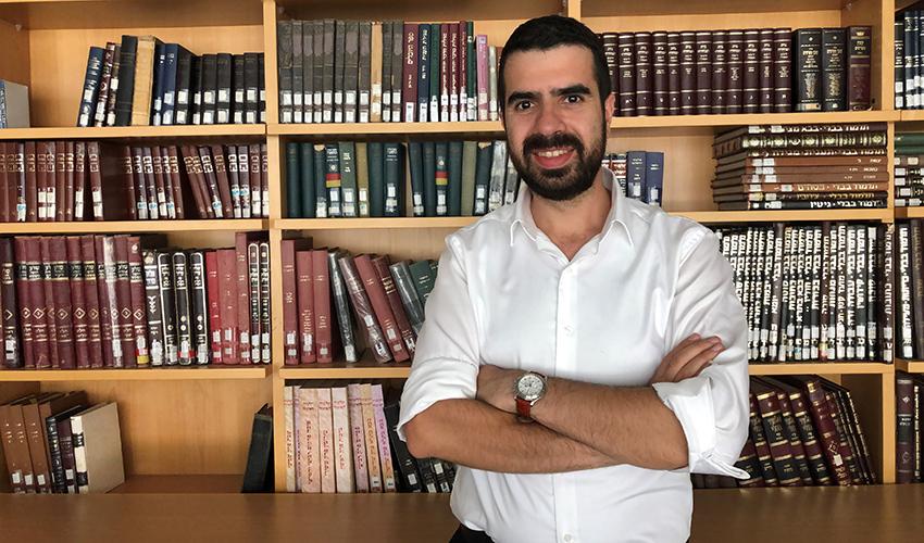 הרב דוד אריאס וייל (צילום: קהילת מוריה)