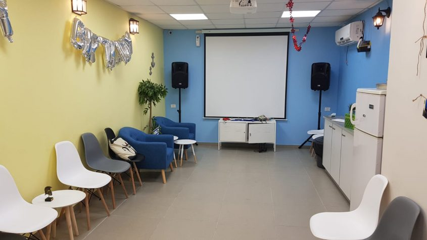 """חדר אירועים """"הג'וב היווני"""". צילום: אננס פרסום"""